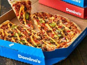 Domino's Launch Cheeseburger P...