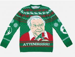 David Attenborough Christmas Jumper Is Amazing