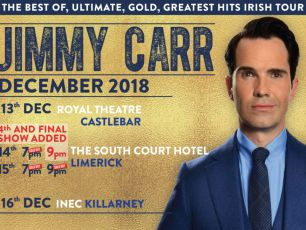 Jimmy Carr Adds Fourth Limerick Date