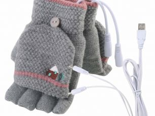 These Gloves Have HEATERS Inside Them