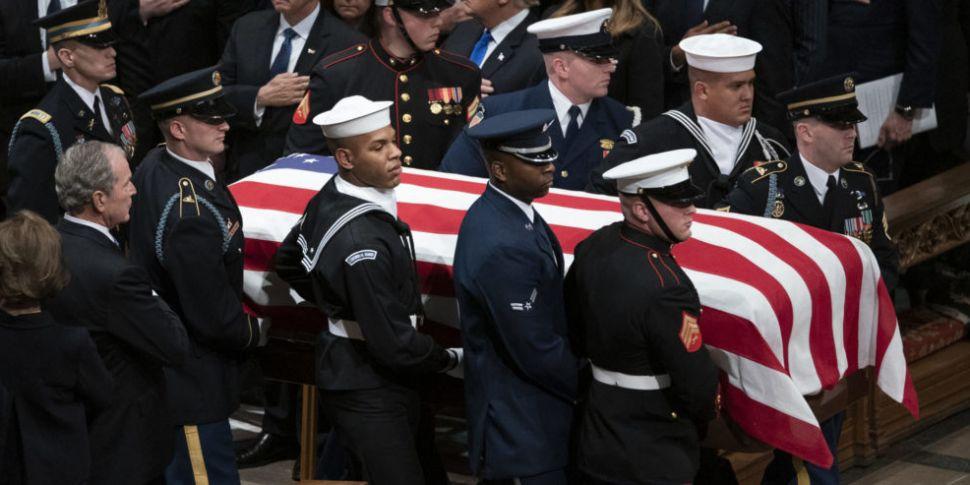 USA Says A Final Goodbye To Former President George HW Bush