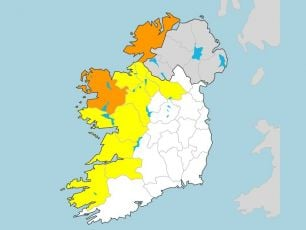 Gusts Of Up To 130km/h As Weather Warnings Issued For The West Of The Country