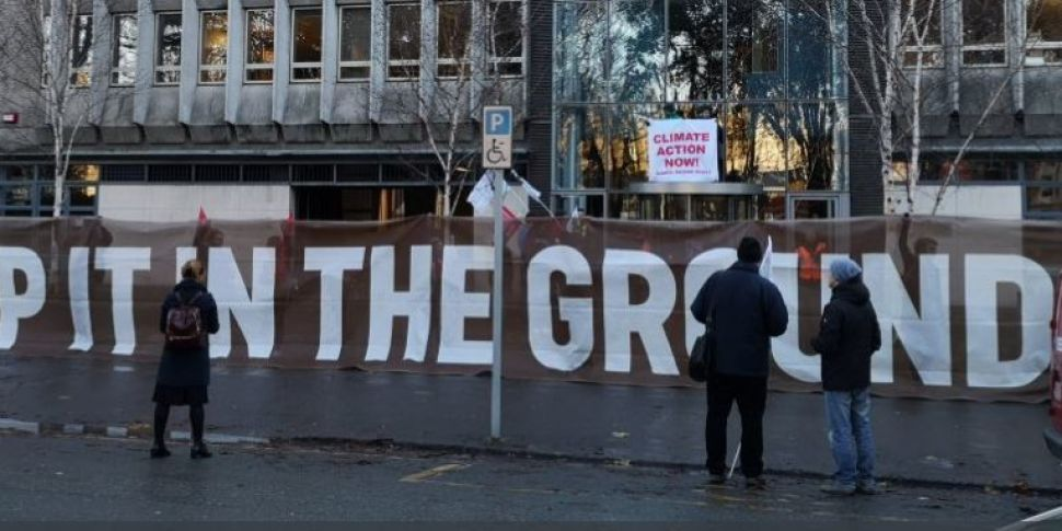Environmental Activists Occupy Department Of Climate Change