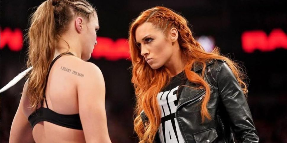 Irish Wrestler Becky Lynch Win...