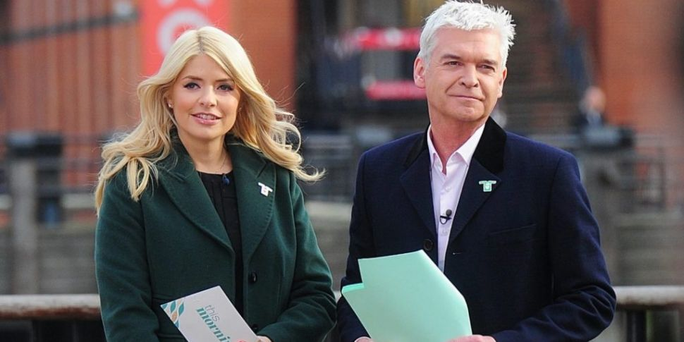 Holly Willoughby Gives Phillip...