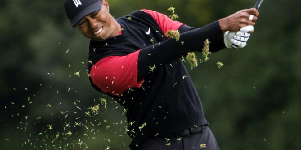 Tiger Woods Makes Historic Com...