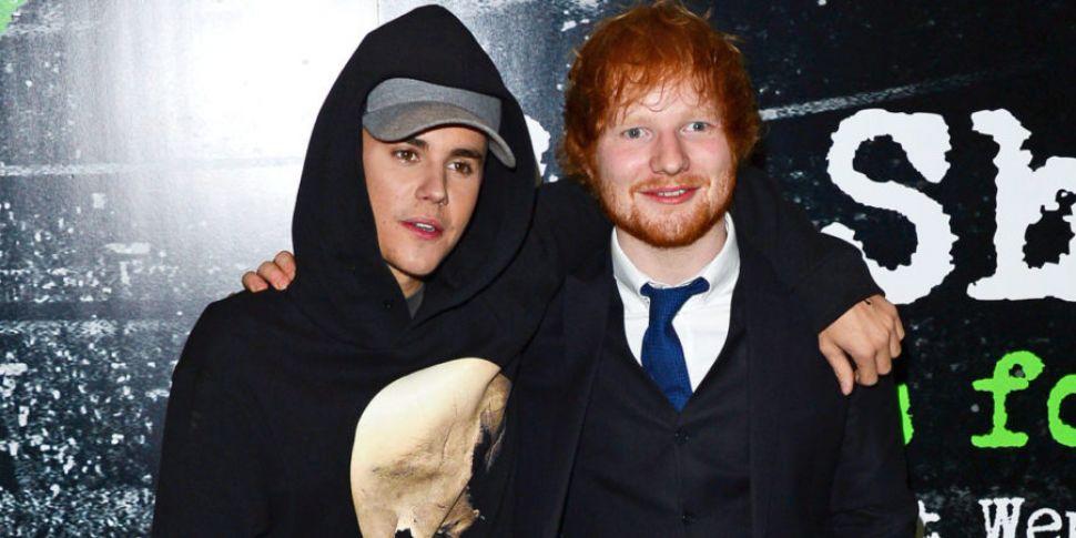 Justin Bieber & Ed Sheeran Tea...