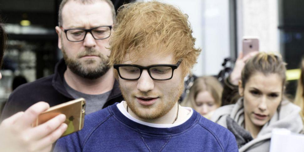 Ed Sheeran Reportedly Asked We...