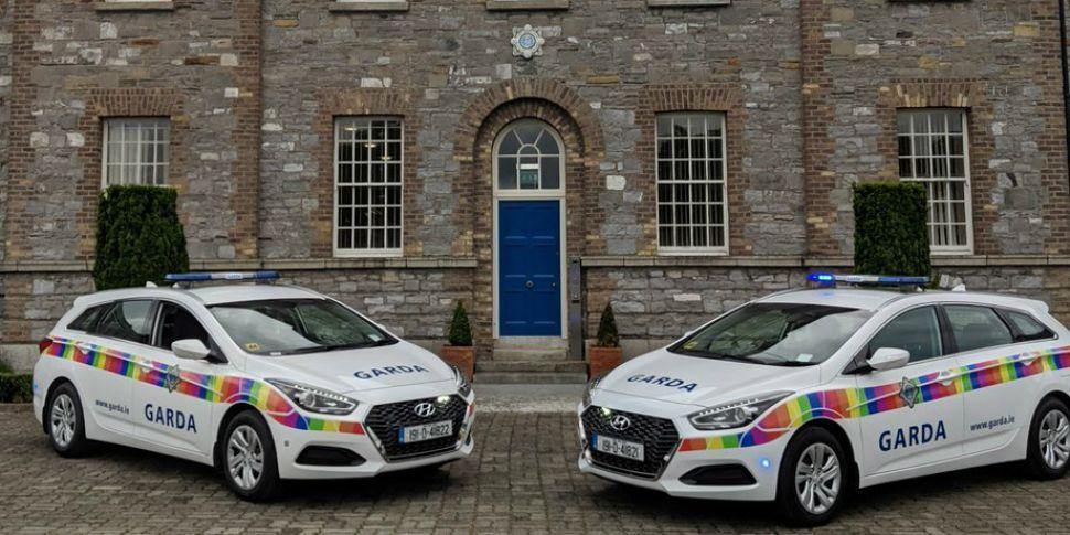 Garda Cars Get Rainbow Make-Ov...