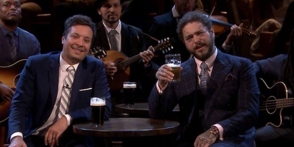 Post Malone And Jimmy Fallon P...