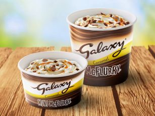 McDonald's Galaxy McFlurry Is...