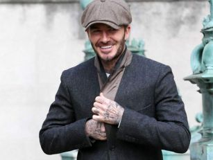 David Beckham Spotted on Peaky...