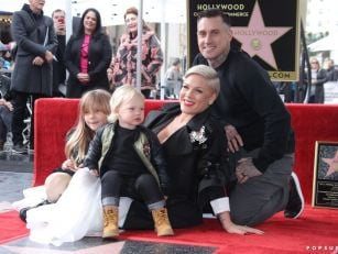 P!nk Gets Star On Hollywood Wa...