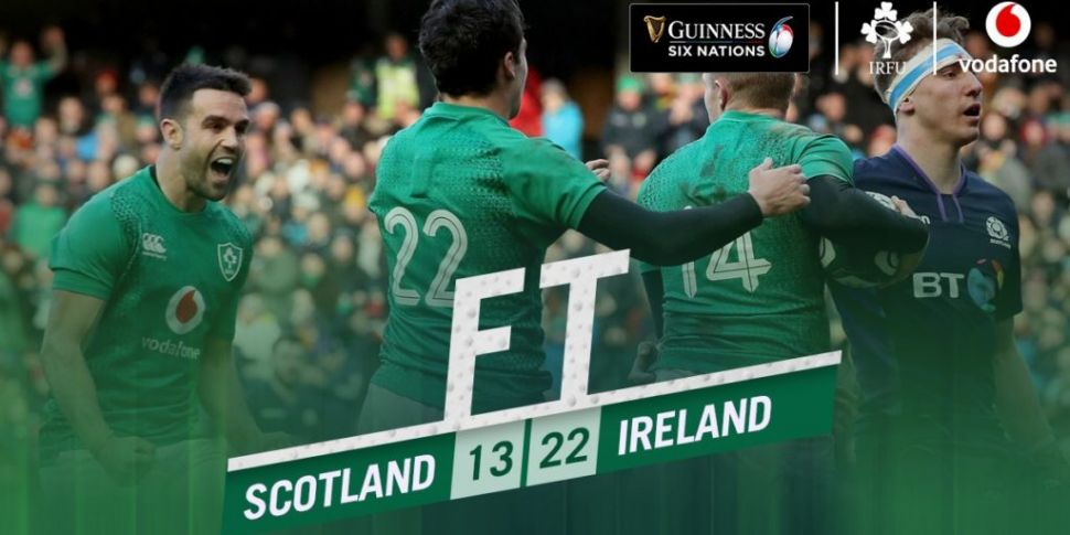 Ireland 22 Scotland 13 In The...