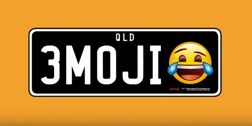 Emoji Licence Plates To Be Lau...
