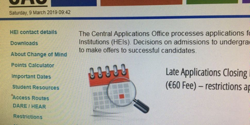 More People Applied To The CAO...