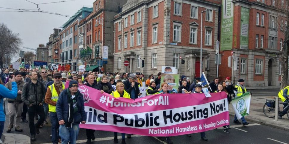 Protest Over Homeless And Hous...