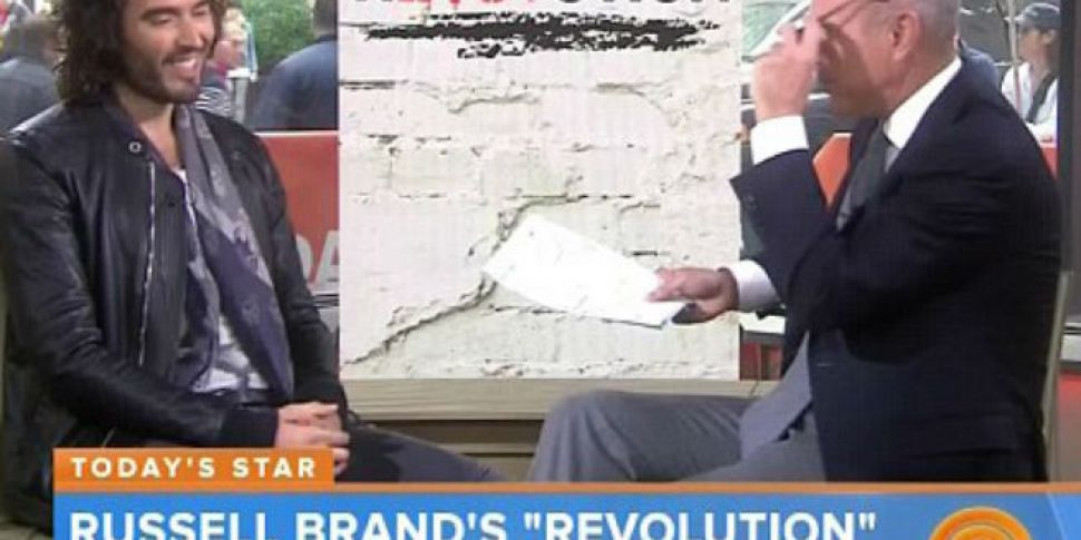 VIDEO - Russell Brand speaks a...