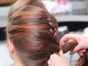A Classic Look French Plait