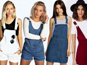 Dungarees are making their com...