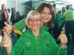 Irish athletes on the way to S...