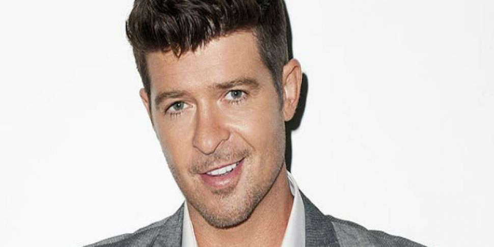 Robin Thicke Announces The Birth Of His Daughter