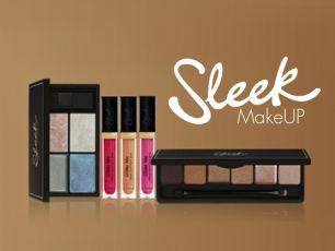Sleek Makeup Gold Lip Look