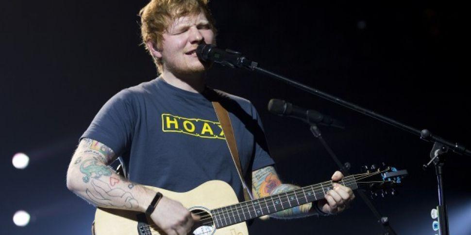 Ed Sheeran Announces 7 Irish D...
