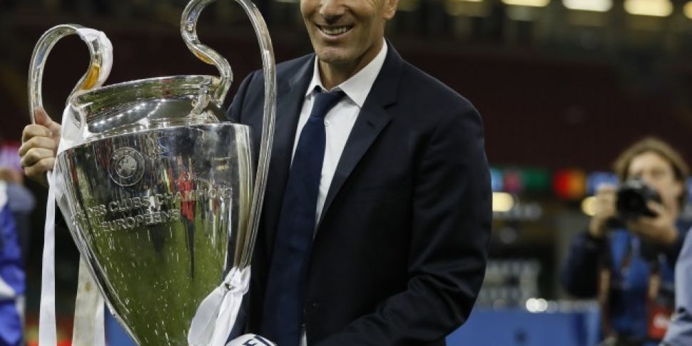 Zinedine Zidane Leaves Real Ma...