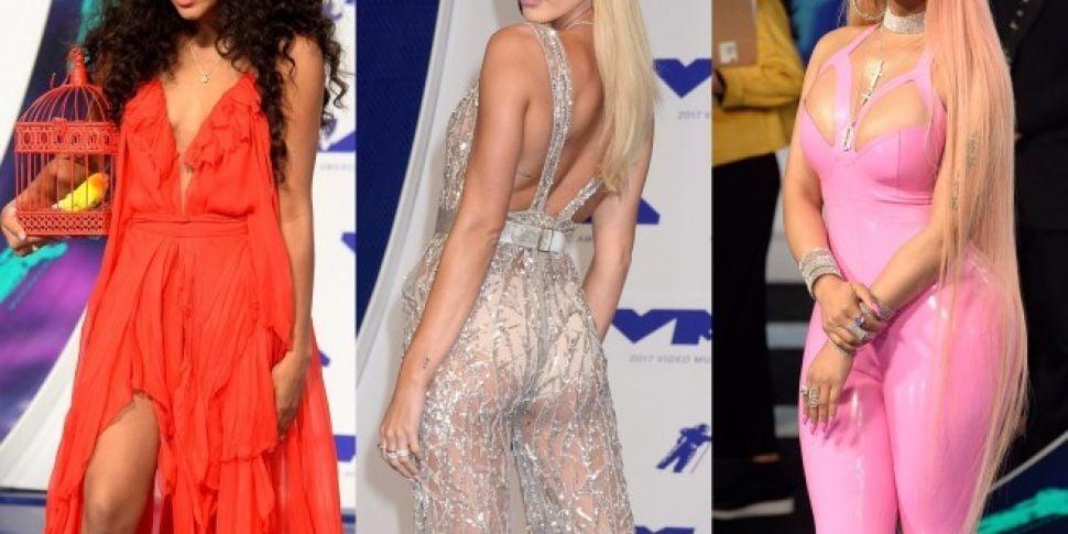 MTV VMAs Blue Carpet