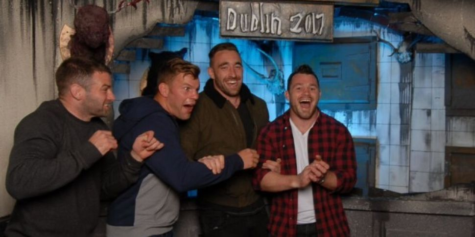 The Leinster Team Were Loving The Nightmare Realm