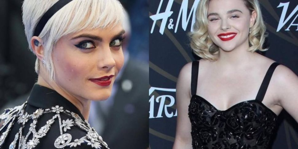 Cara Delevingne And Chloe Grace Moretz Spotted At Olympia Gig