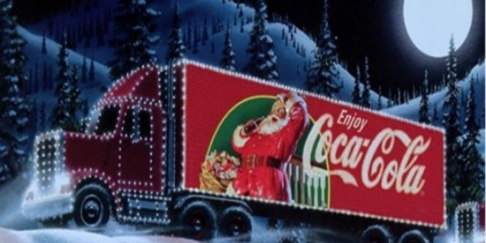 The Route For The Coca Cola Truck Has Been Revealed