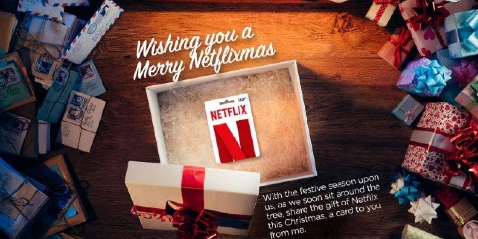 Netflix Launch Festive Gift Card