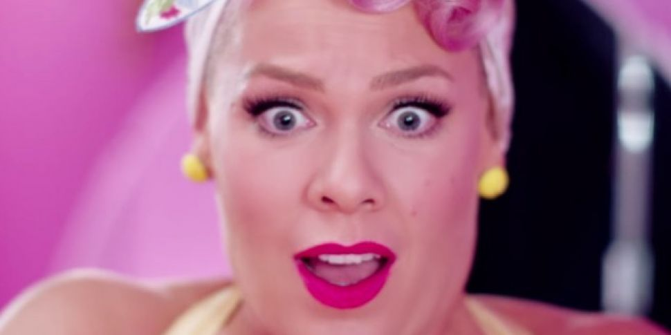 Pink Releases Beautiful Trauma Video Starring Channing Tatum