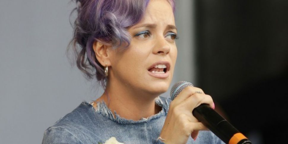 Lily Allen Accuses James Corden Of Coming Onto Her