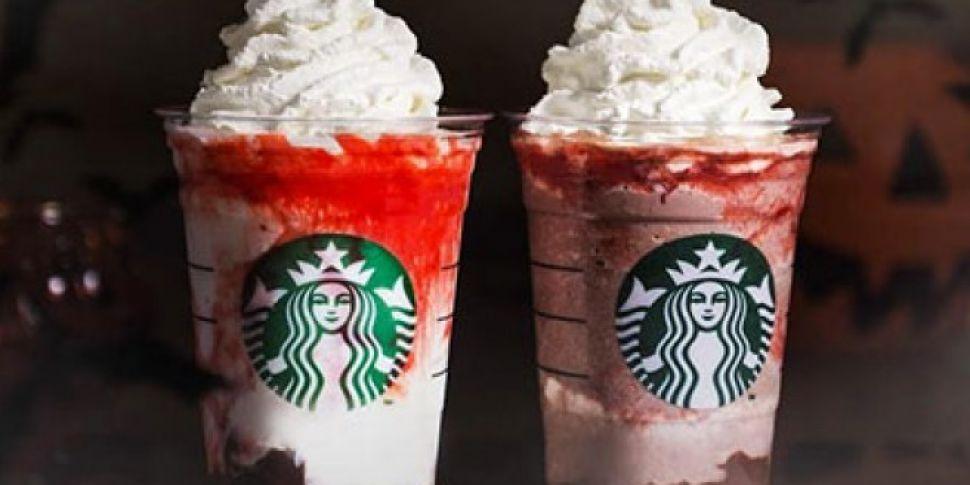 Goodbye Pumpkin Spice Latte.. Hello Mr and Mrs Vampire Frappuccino
