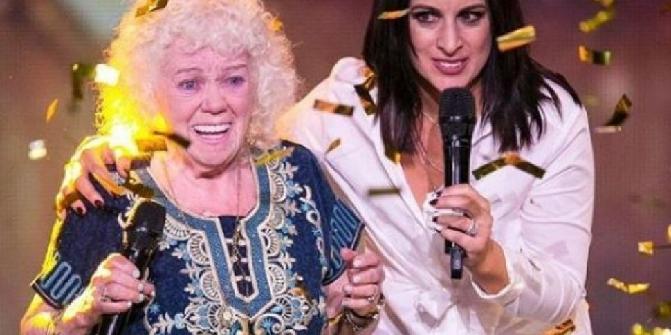 82 Year Old Evelyn Gets Golden...