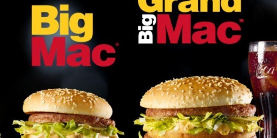 McDonalds Lauch Grand Big Mac