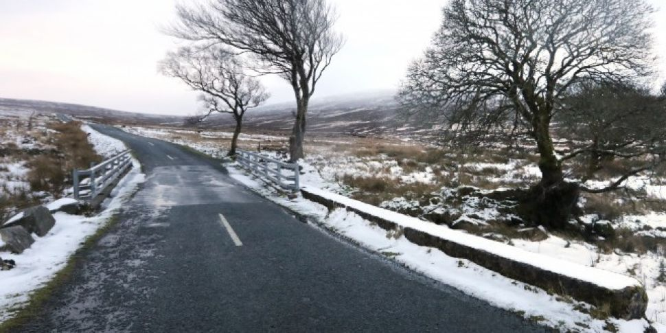 Status RED Snow And Ice Warning Extended Until 6pm Friday