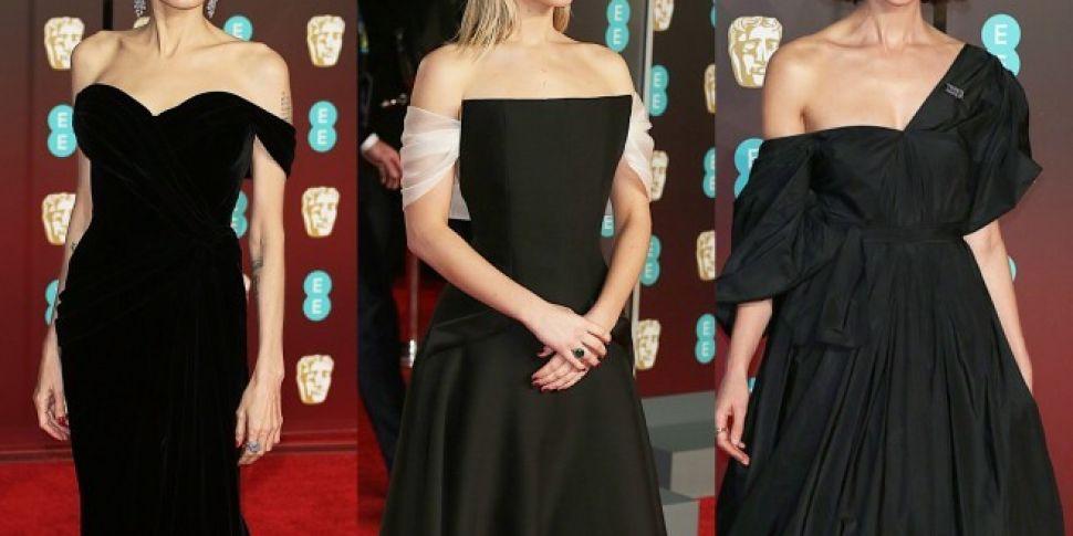 Black Dresses Took Over The BAFTAs Red Carpet