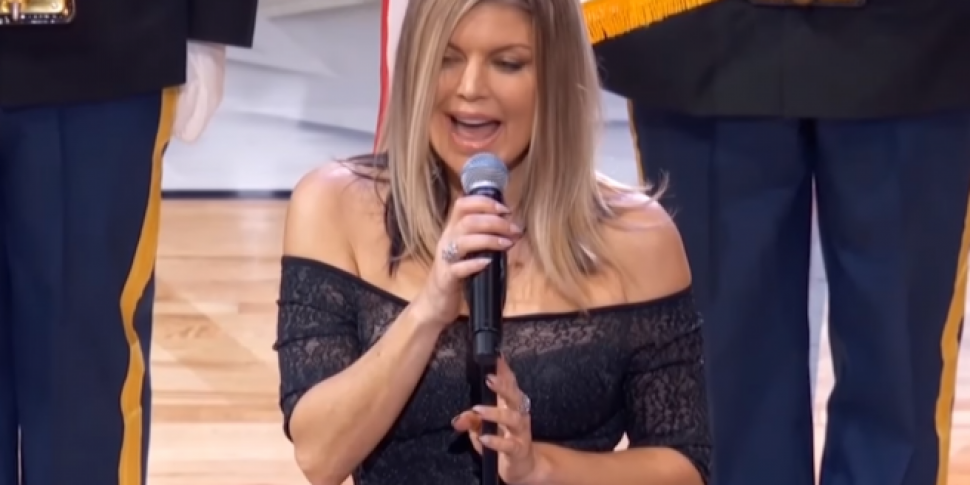 Fergie Apologises For Her National Anthem Performance