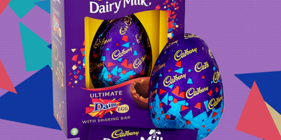 Cadbury Daim Easter Eggs Are Here