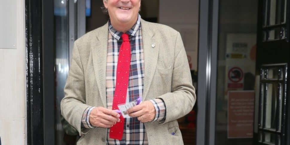 Stephen Fry Has Been Diagnosed With Prostate Cancer