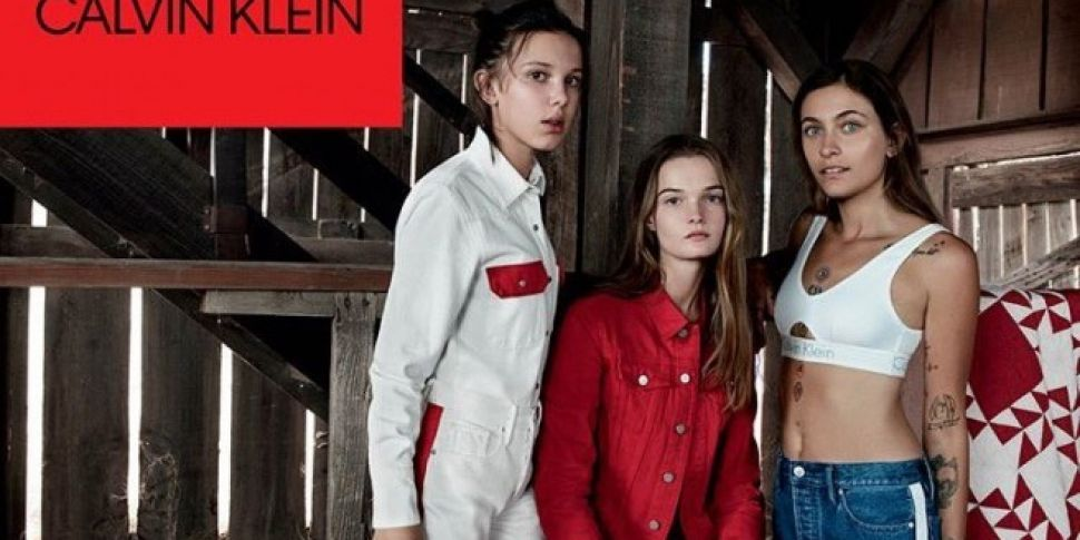 Paris Jackson And Millie Bobby Brown Land Calvin Klein Jeans Campaign