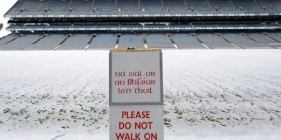GAA Cancels All Weekend Allianz League Games
