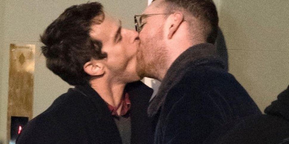 Brandon Flynn Responds To Memes Of Him Kissing Sam Smith