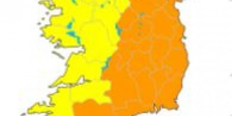 Met Eireann Has Updated The National Weather Warning As Snow Melts
