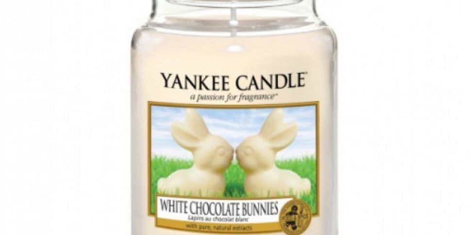 You Can Now Get White Chocolate Bunny Yankee Candles