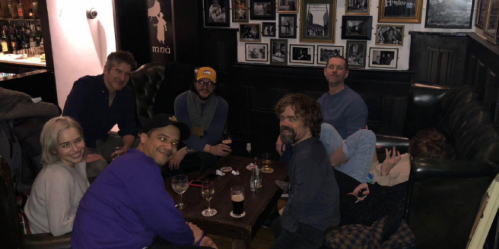 Group Of Game Of Thrones Stars Spotted In Belfast